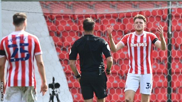 Harry Souttar was sent off late in the game