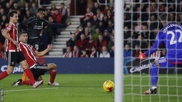 Daniel Sturridge's first goal