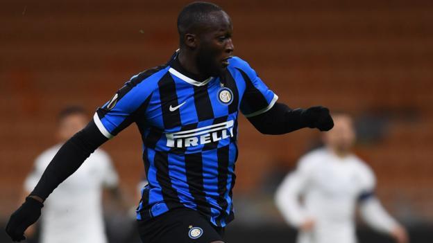 Inter Milan 2-1 Ludogorets (4-1 agg): Romelu Lukaku scores as Inter reach last 16