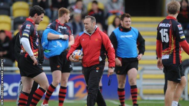Darren Edwards' coaching CV includes Dragons, Wales U20 and Bath