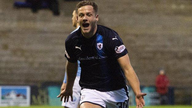 Scottish league One: Raith Rovers replace Falkirk at top - BBC News