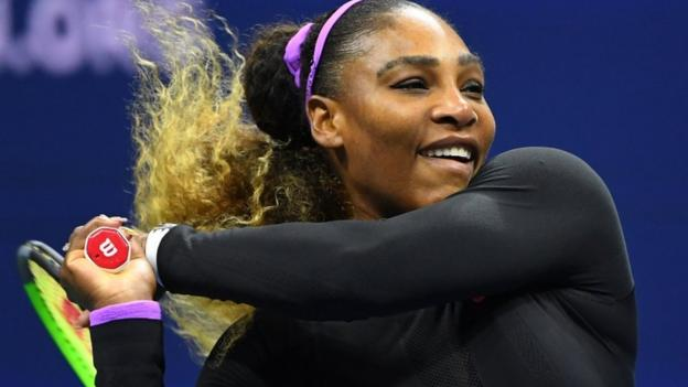 US Open 2019: Serena Williams beats Maria Sharapova 6-1 6-1 to reach second round thumbnail