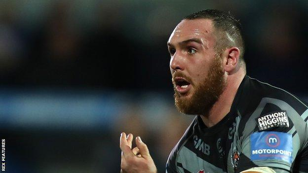 Daniel Smith has made five appearances for Castleford Tigers this season