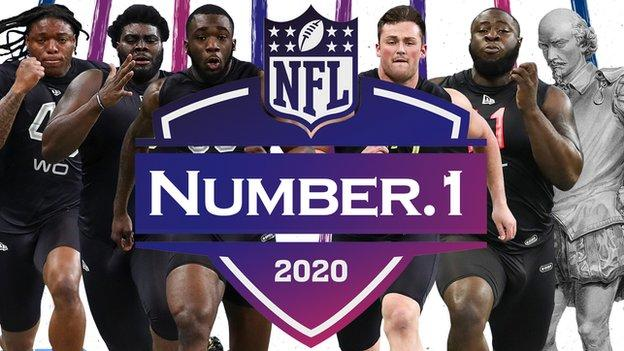 NFL Draft Shakespeare quiz graphic