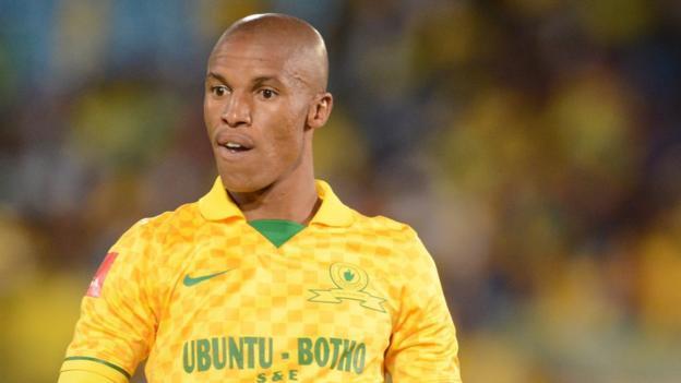 Mamelodi Sundowns defender Thabo Nthethe