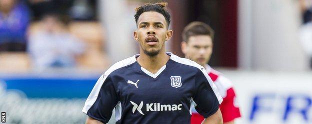 Dundee striker Phil Roberts
