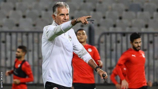 Egypt coach Carlos Quieroz