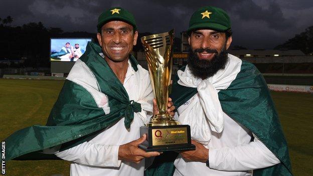 Younus Khan and Misbah-ul-Haq