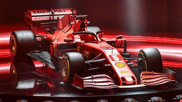 Ferrari SF1000 F1 car