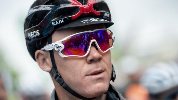 Chris Froome: Briton fractured neck in crash and faces six weeks in hospital thumbnail