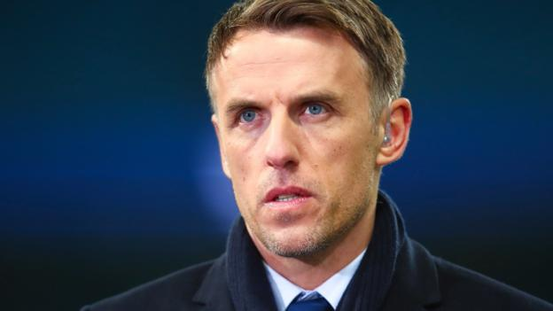 Phil Neville: England boss calls on big clubs to hold women's matches at their stadiums thumbnail