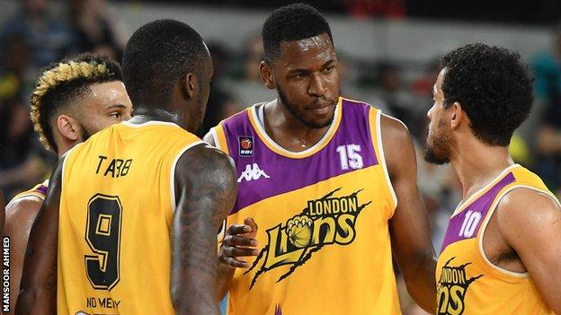 London Lions players