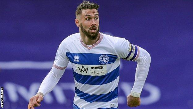 Geoff Cameron in action for QPR