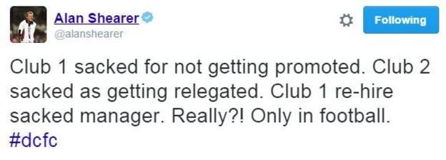 Alan Shearer tweet
