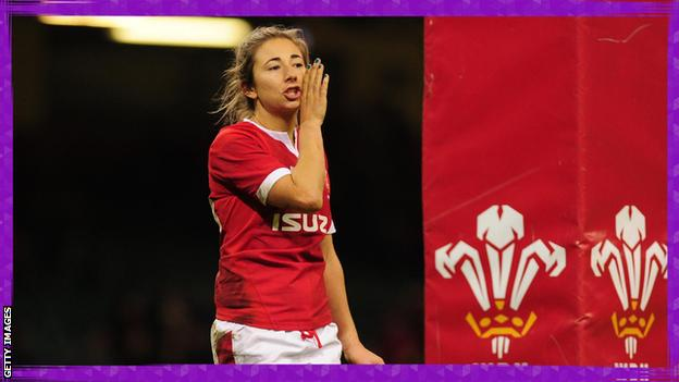 in_pictures Elinor Snowsill playing for Wales