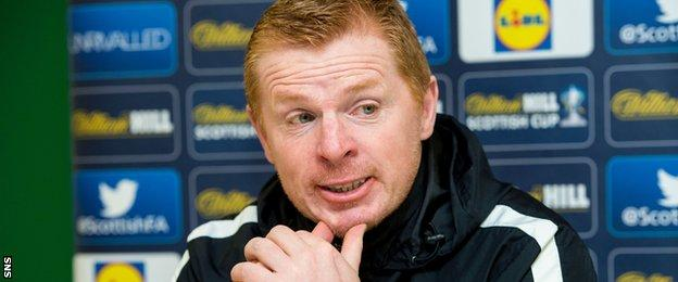Hibernian manager Neil Lennon