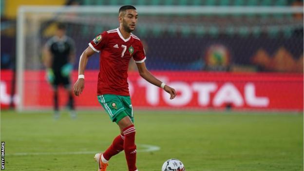 Morocco's Hakim Ziyech