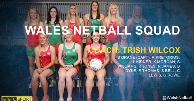 Wales Netball squad
