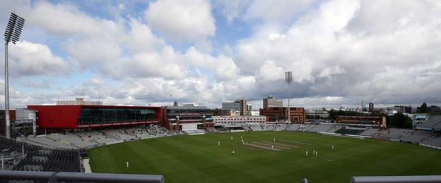 Lancashire v Surrey drew a disappointingly sparse crowd on day two at Old Trafford