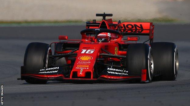 Charles Leclerc is preparing to start his first season with Ferrari after replacing Kimi Raikkonen