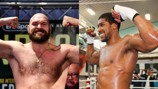 Anthony Joshua v Jarrell Miller: American challenger praises Tyson Fury thumbnail