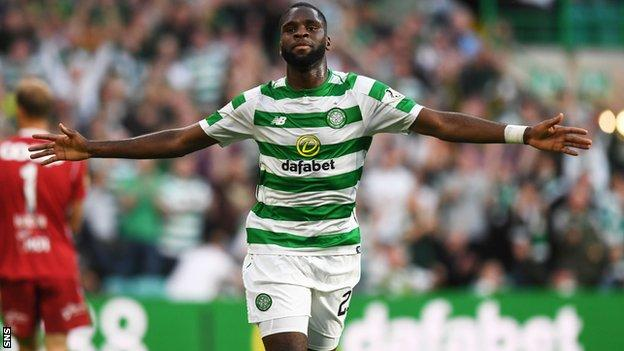 Odsonne Edouard of Celtic