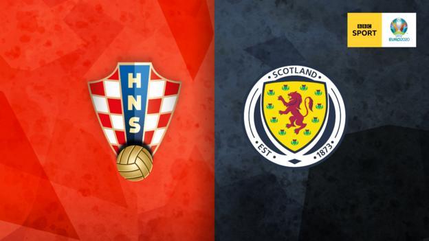 Croatia v Scotland