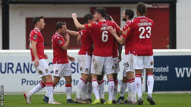 Wrexham were relegated from the Football League in 2008, ending an 87-year stay