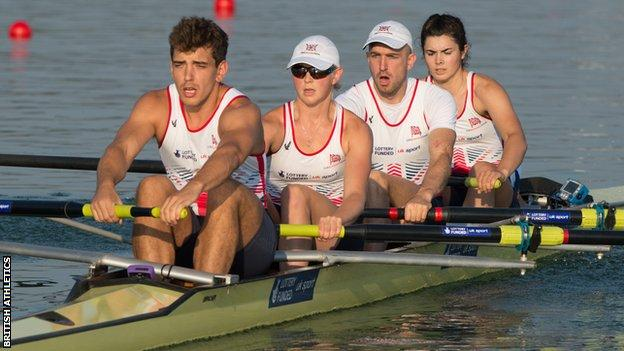 Great Britain mixed coxed four