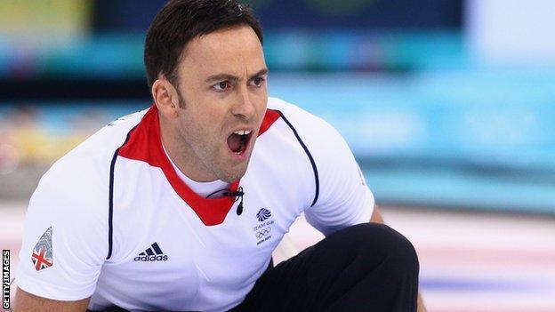 David Murdoch in action at the Sochi Olympics