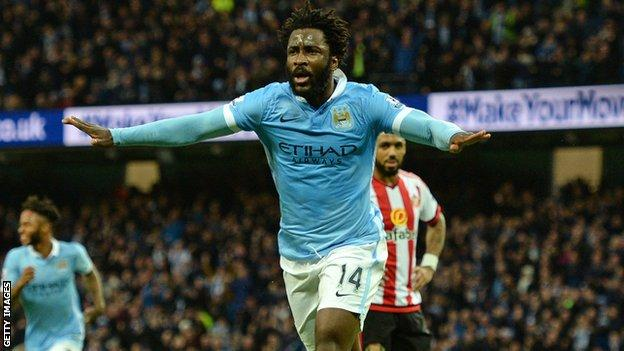 Wilfried Bony won the 2015-16 League Cup while at Manchester City