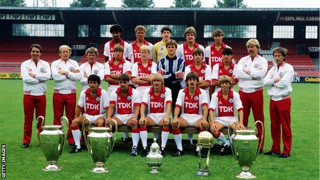 The Ajax team of 1983