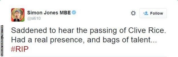 Simon Jones tweet