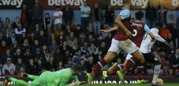 Romelu Lukaku scores Everton's equaliser