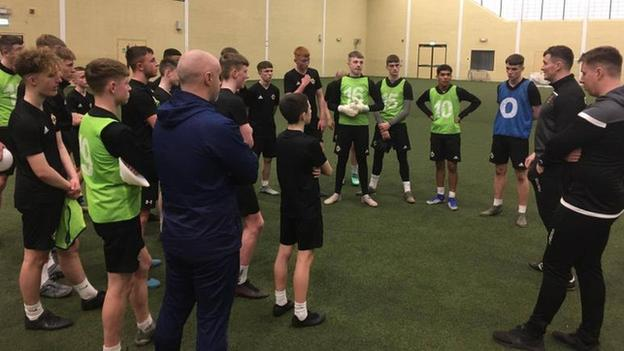 The Club NI programme aims to prepare talented young Northern Ireland footballers for a career in the professional game