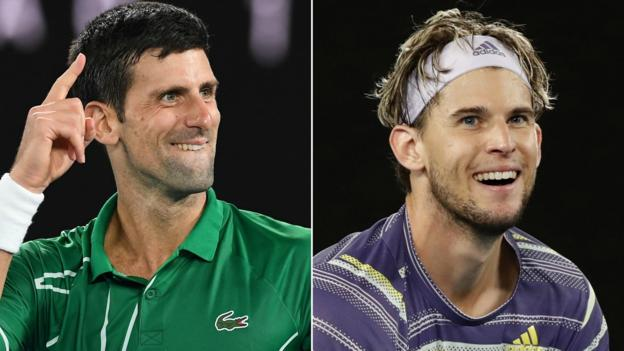Australian Open: Novak Djokovic must 'go up a level' to beat Dominic Thiem thumbnail