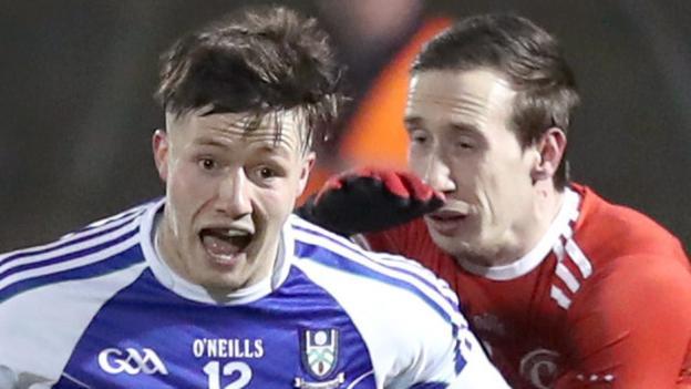 Football League, Division One: Monaghan 0-15 0-14 Tyrone