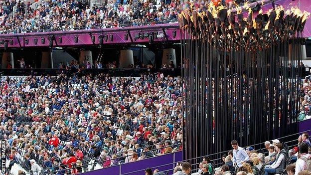 Paralympics crowd