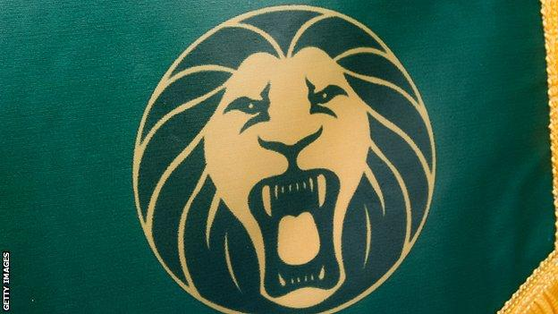 The Cameroon national team logo
