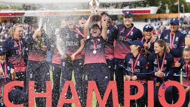 environment England women win 2017 World Cup