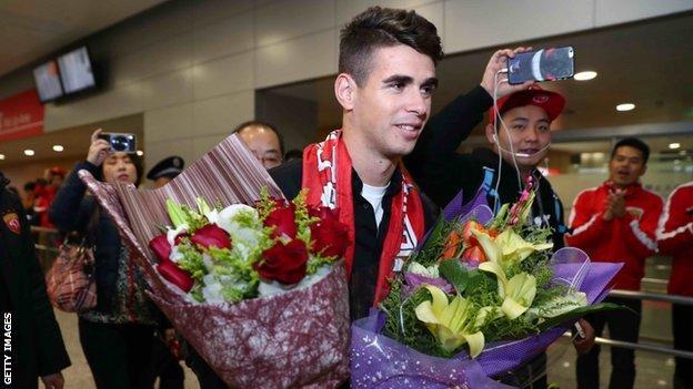 Oscar arrived in Shanghai this week