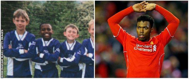 England striker Daniel Sturridge got his grounding in football at Cadbury Athletic