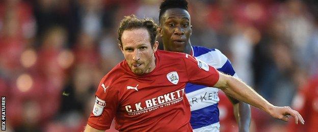 Barnsley left-back Aidy White