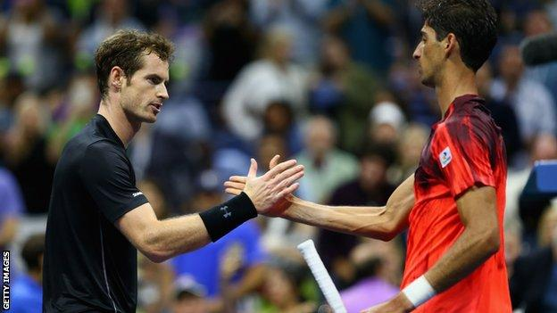 Andy Murray and Tomasz Bellucci