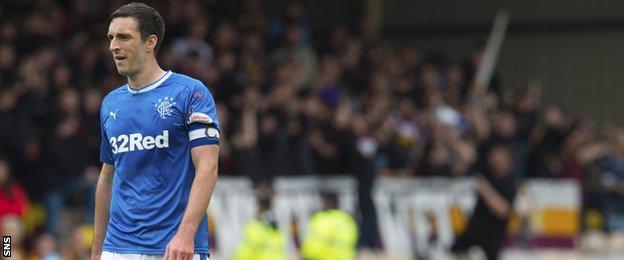Rangers captain Lee Wallace