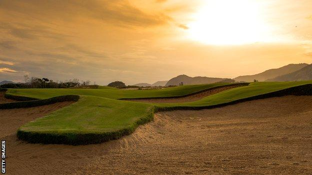 Next year's Olympic golf will be played in the Barra da Tijuca neighbourhood of Rio