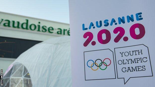 Lausanne 2020 logo
