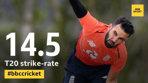 Saqib Mahmood - has a T20 strike-rate of 14.5