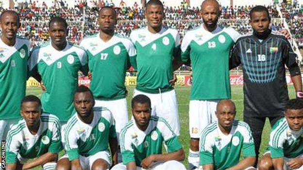 The Comoros Islands players