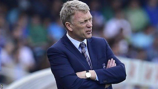 Real Sociedad's coach David Moyes